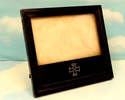 IRON CROSS - PATRIOTIC FRAME - Imperial German Military Antiques Sale