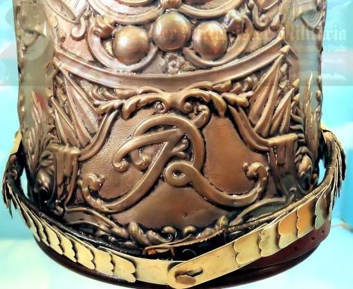 MITRE- ENLISTED MUSICIAN - ERSTE GARDE REGIMENT ZU FUß BATAILLON NR I - FRIEDRICH der GROßE-STYLE - Imperial German Military Antiques Sale