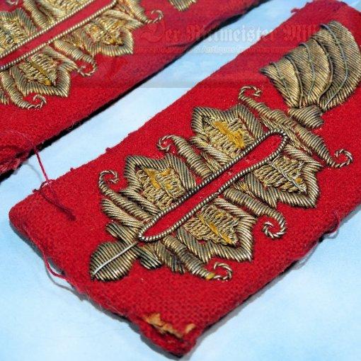 GERMANY - SHOULDER BOARDS - OFFICER - KRAGENSPIEGEL - Imperial German Military Antiques Sale