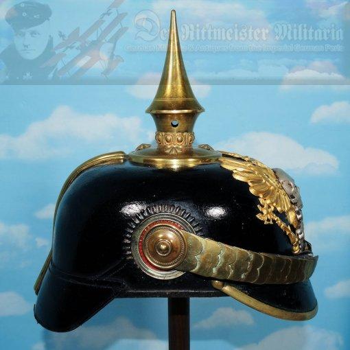 BRAUNSCHWEIG - PICKELHAUBE - RESERVE OFFICER - INFANTERIE-REGIMENT NR 92 - Imperial German Military Antiques Sale