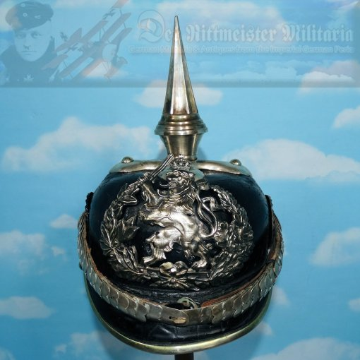 PICKELHAUBE - HESSE-DARMSTADT - OFFICER - INFANTERIE-REGIMENT Nr 115 - CONVERTED TO DRAGONER-REGIMENT Nr 23 OR NR 24.