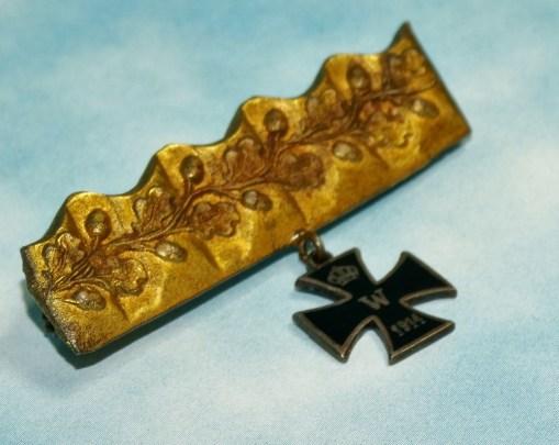 PATRIOTIC PIN - Imperial German Military Antiques Sale