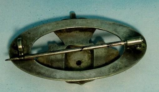 REGIMENTAL PATRIOTIC PIN - LEIB-GRENADIER-REGIMENT Nr 8 - PRUSSIA - Imperial German Military Antiques Sale