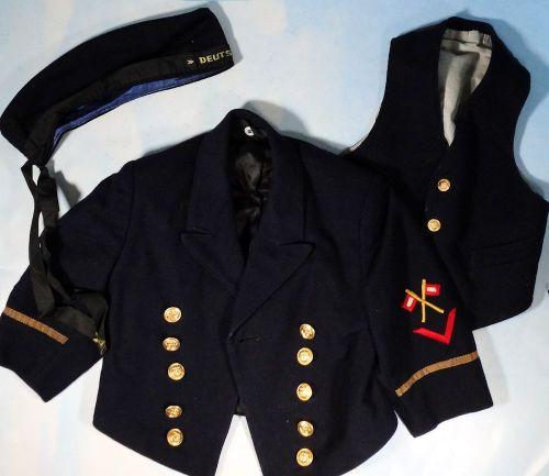 NAVY - THREE-PIECE KINDER (CHILD) NAVAL UNIFORM GROUP