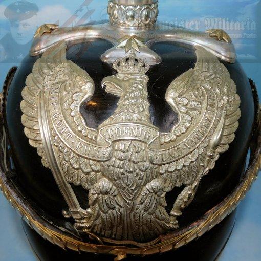 PRUSSIA - PICKELHAUBE - OFFICER - LINE-DRAGONER-REGIMENT - Imperial German Military Antiques Sale