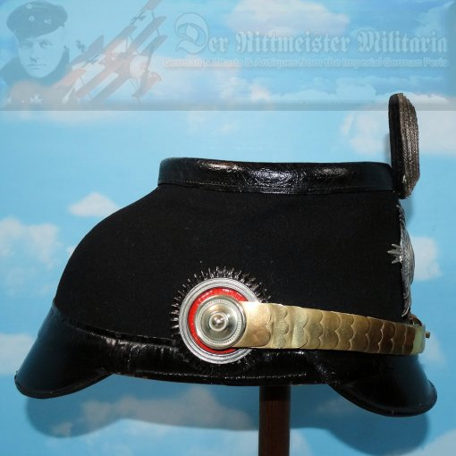 PRUSSIA - TSCHAKO - OFFICER - FLIEGER - LUFTSCHIFFER BATAILLON - Imperial German Military Antiques Sale
