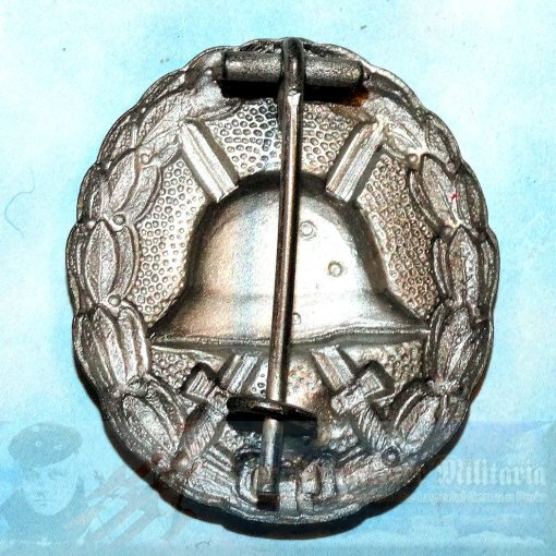 ARMY WOUND BADGE - SILVER.