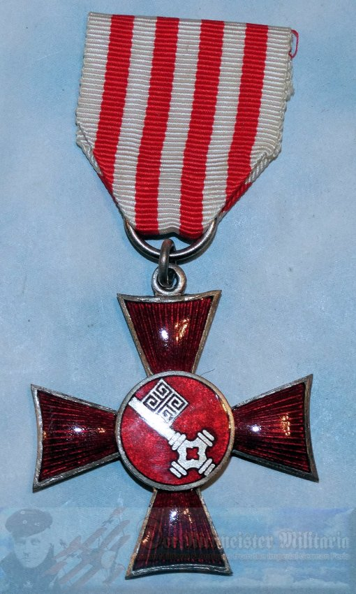BREMEN - HANSEATIC CROSS - Imperial German Military Antiques Sale