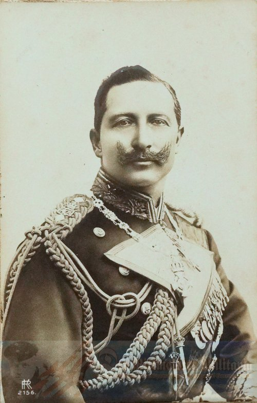 PRUSSIA - POSTCARD - YOUNG KAISER WILHELM II - NAVY