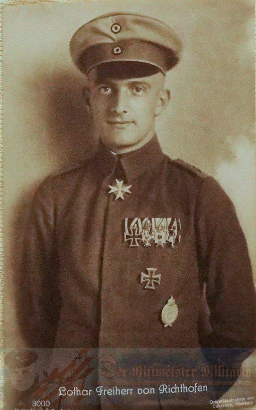 PRUSSIA - SANKE CARD - LOTHAR VON RICHTHOFEN - HARRY ROTHENBERG - AVIATION - NR 3000