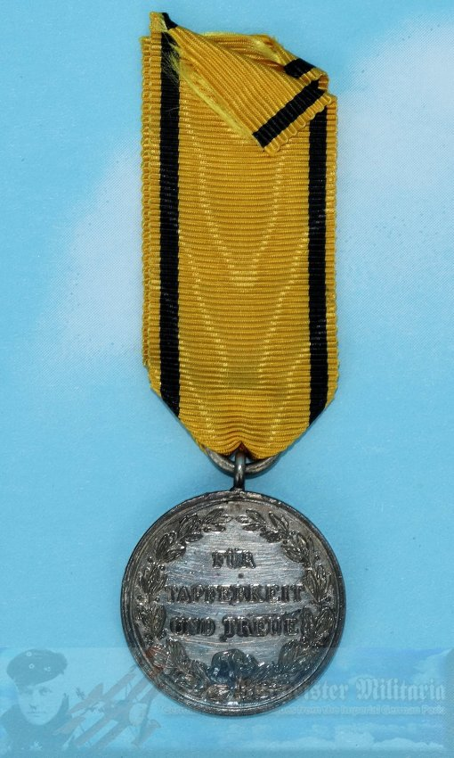 BADEN - MEDAL - MILITARY MERIT - SILVER - Imperial German Military Antiques Sale