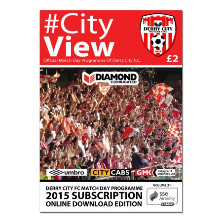 CityView Match Programmes