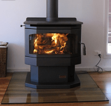Glass Stove Hearths Made To Measure In Ireland Glass Floor Plates Superficial HearthsNorthern Ireland Square Glass shape Derry glass fire place