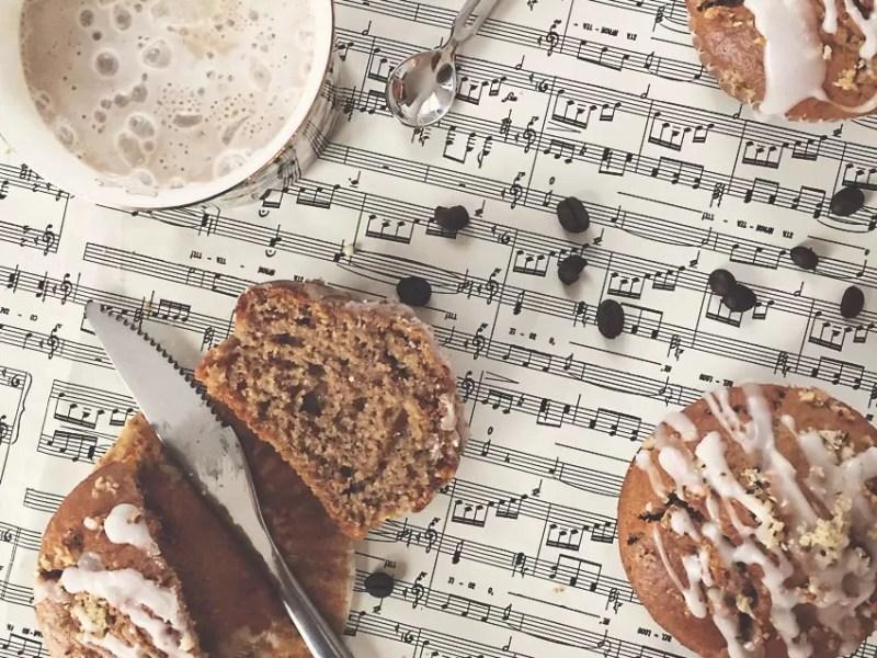 Ricetta muffin al caffè e noci