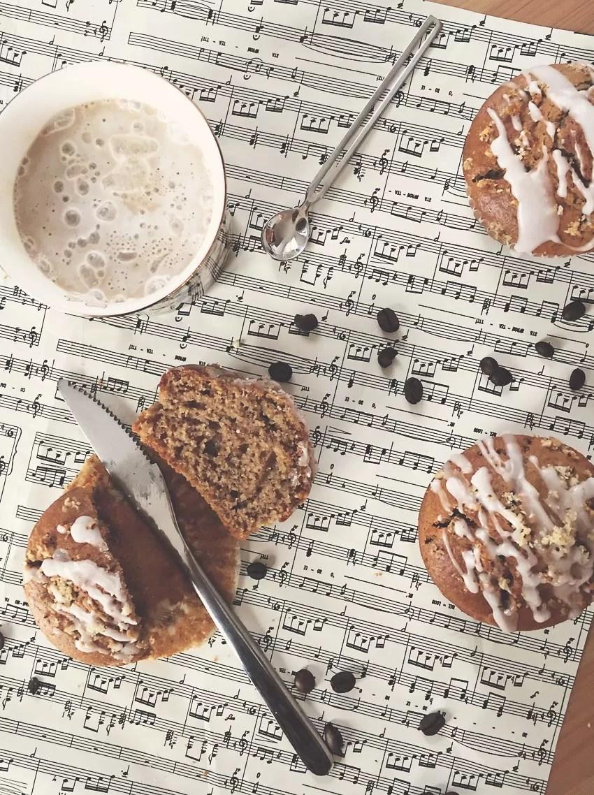 Ricetta muffins espressi al caffè e noci