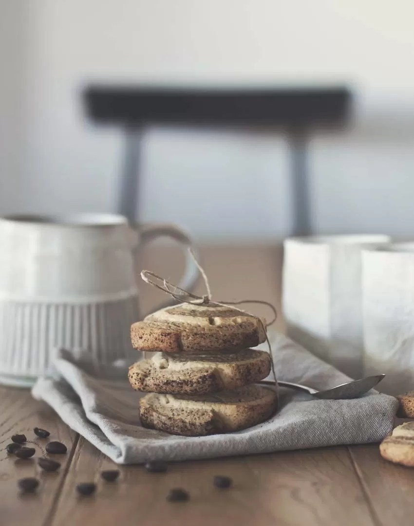 ricetta biscotti girandola al caffè