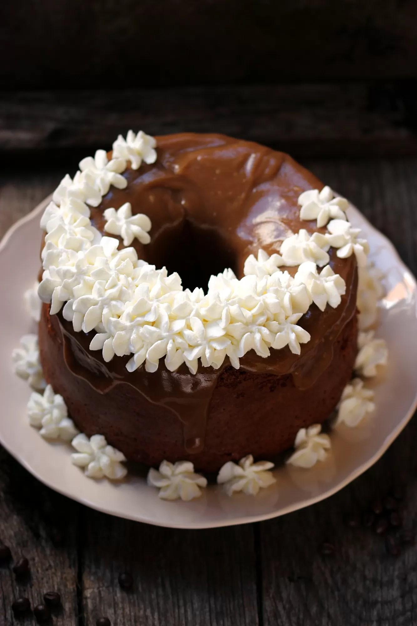 Chiffon Cake al gusto di caffè
