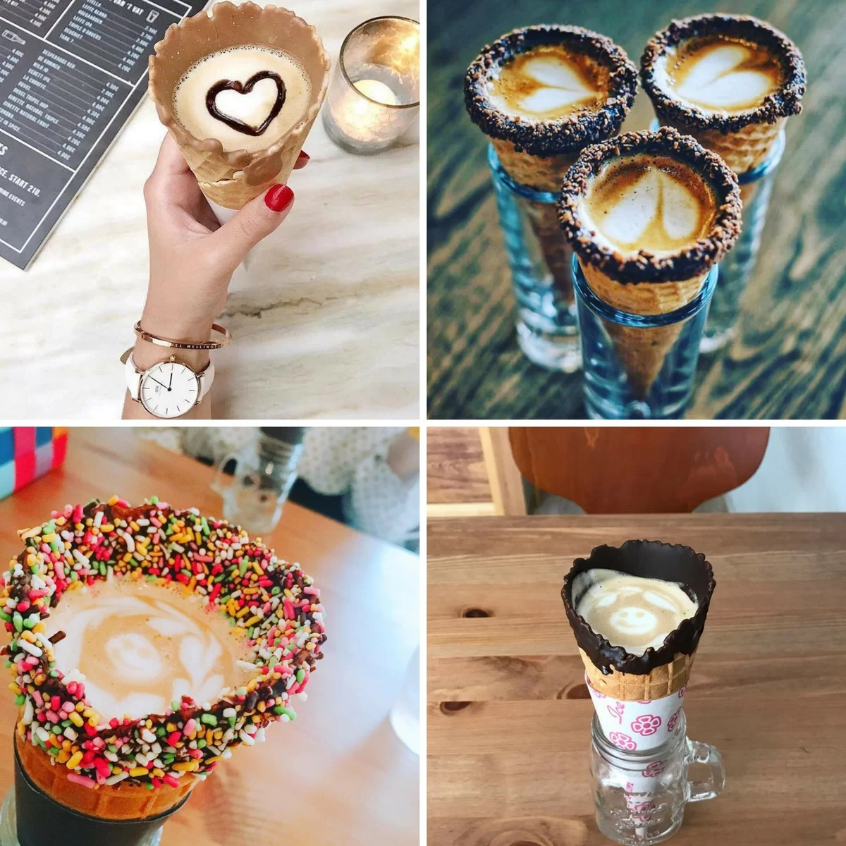 coffee cone tendenza caffè 2017