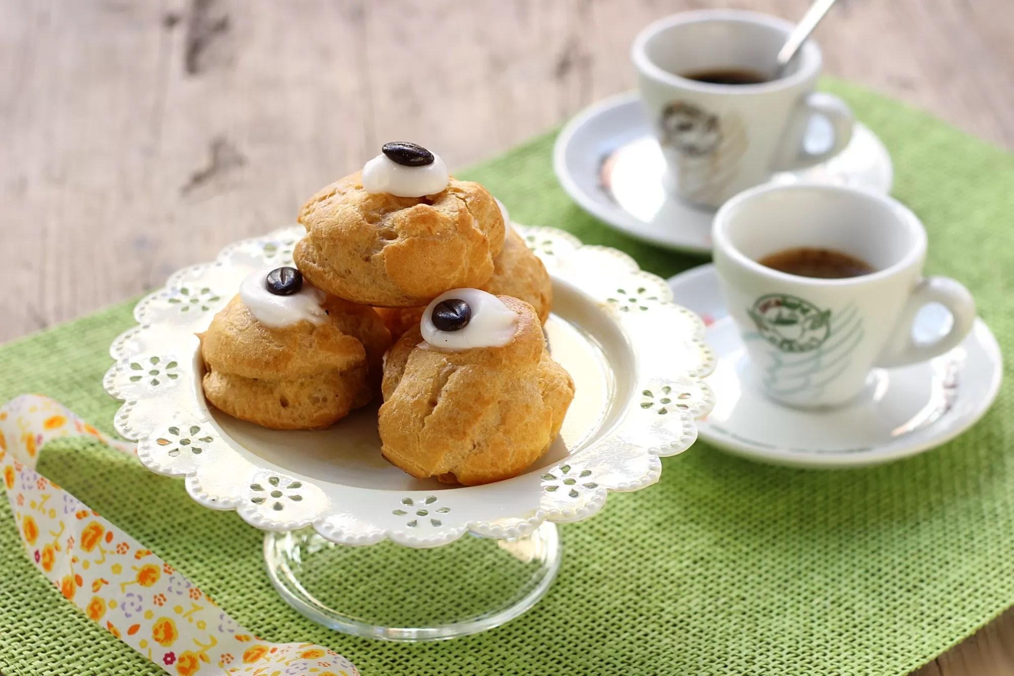 Ricetta bignè caffè