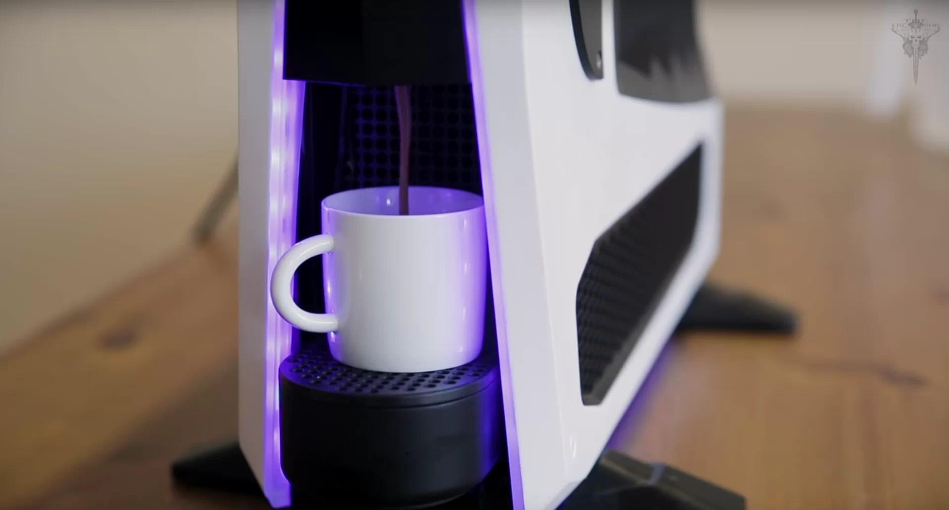 mekpresso - il computer che fa il caffè di zotac