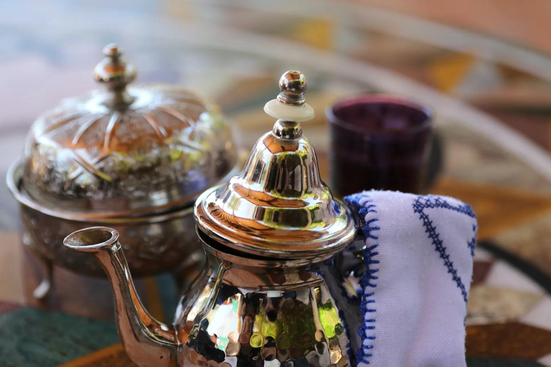 tè verde con menta