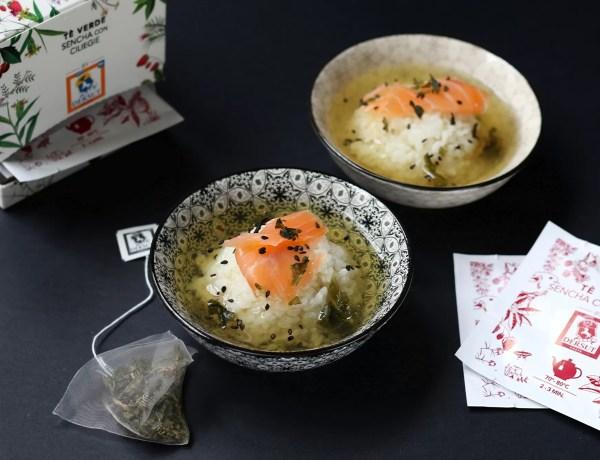 Ochazuke giapponese
