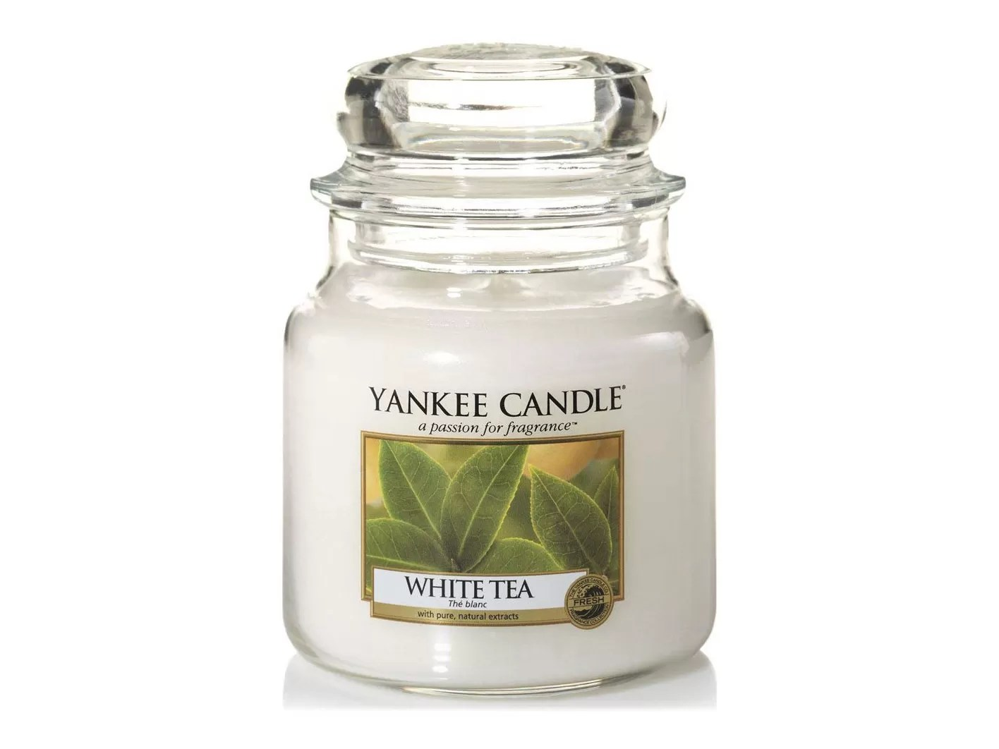 regali per amanti del tè - candela profumata yankee candle