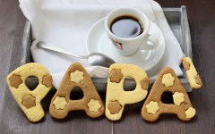 Biscotti alla vaniglia e caffè dersut