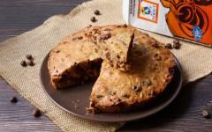 torta biscotto noci e caffè