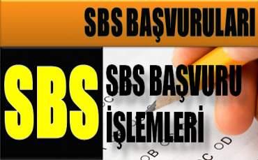 2012 SBS Başvuru Kılavuzu
