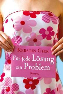 """Ich habe mich einmal mehr von meiner Friseurin bequatschen lassen und einen ihrer Buchtipps gelesen. Von Beginn an hat mich mich meine Friseuring darauf hingewiesen, dass dieses Buch unglaublich lustig, aber auch unglaublich kurzweilig ist. Und sie hatte recht. Und auch wenn """"Für jede Lösung ein Problem"""" ein absolutes Frauenbuch ist, fand ich es lustig, witzig und abwechslungsreich. Und ganz nebenbei, weiß ich nun auch, wie Singlefrauen im mittleren Alter ticken."""