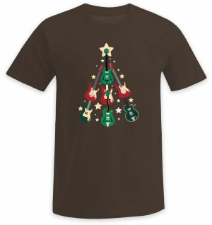 Der Gitarren Weihnachtsbaum