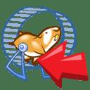 metalen looprad hamster