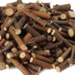 Linde knaaghout voor dwerghamsters