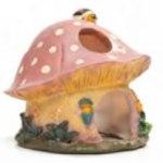 Paddenstoel hamsterhuisje