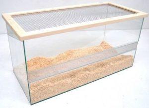 terrarium hamster knaagdier