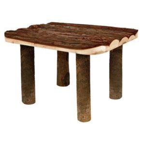 Trixie houten plateau 30 cm voor gerbilscaping, gerbilscapen en hamsterscaping