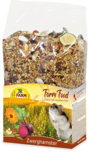 foto van jr farm farm food dwerghamster adult voeding
