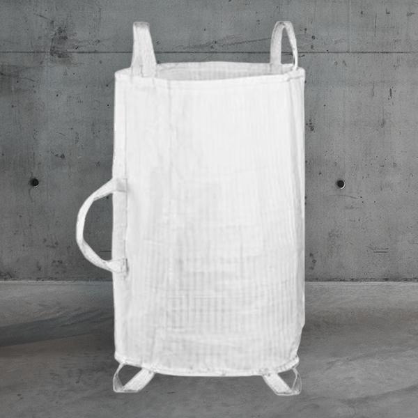 Gartenabfallsack,gartenbag,gartensack,Gartenabfallsack aus gewebe,gartenbag 55x85cm; weiß DESABAG