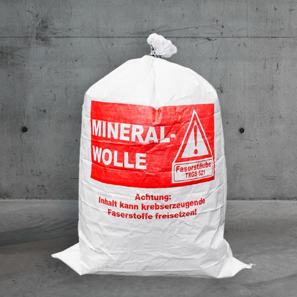 pp gewebesack Mineralwolle 70x100,pp gewebesack kmf 70x100 DESABAG