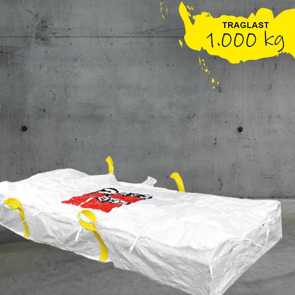 Plattenbag Asbest extra light,Zementplatten Asbest,platten bigbag,platten big bag; 260x125x30cm,Plattenbag Asbest DESABAG