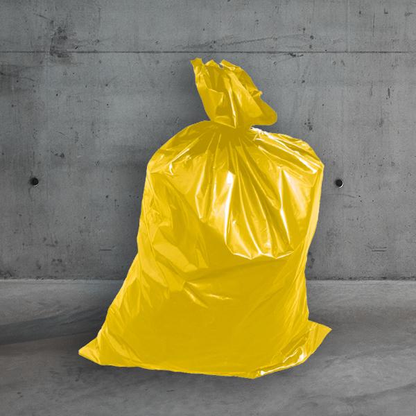 Müllsack gelb DESABAG