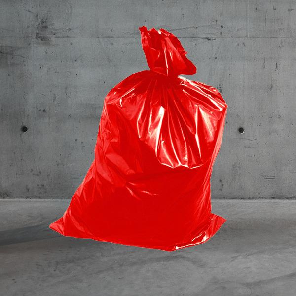 Müllsack rot DESABAG