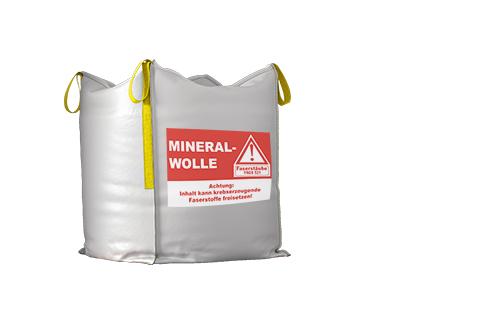Mineralwolle Transport,mineralwolle verpressen,mineralwolle richtig entsorgen,mineralwolle recyclebar,mineralwolle KMF DESABAG