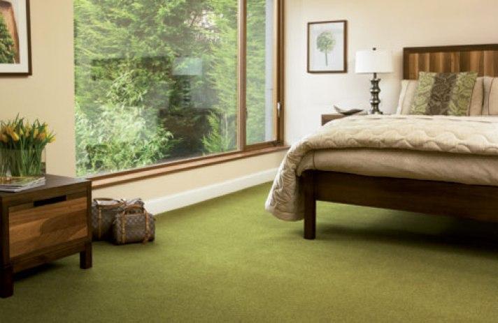 muros de suelo verde crema