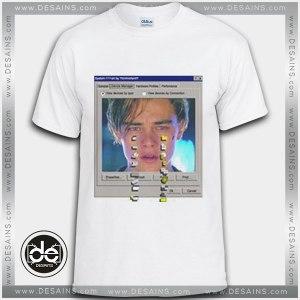 Tshirt Leonardo Dicaprio Crying Internet Tshirt mens Tshirt womens Tees size S-3XL