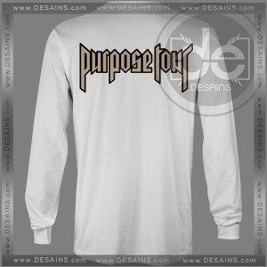 Buy Tshirt Long Sleeve Purpose Tour Justin Bieber Tshirt mens Tshirt womens