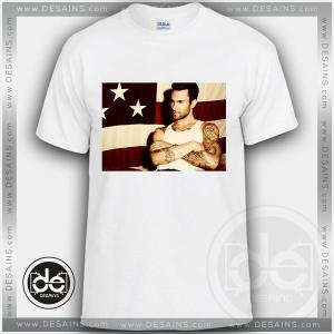 Tshirt Adam levine American Tshirt Womens Tshirt Mens Tees Size S-3XL