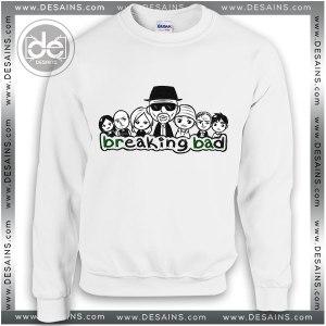 Sweatshirt Breaking Bad Drawing Sweater Womens and Sweater Mens