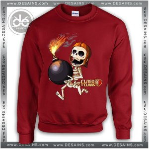 Buy Sweatshirt Clash Of Clans Froggy Sweater Womens and Sweater Mens